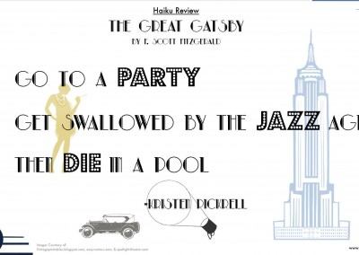 """Kristen Pickrell reviews """"The Great Gatsby"""""""