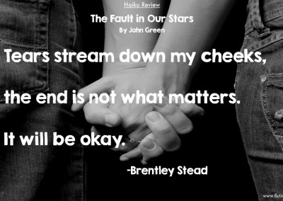 """Brentley Stead reviews """"The Fault in Our Stars"""""""